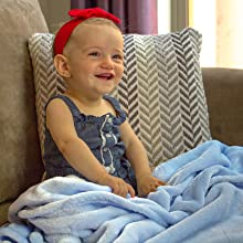 Tonymall Ac Dc Baby Blanket,Baby Quilt,Baby Comfort Blanket,Baby Double Blanket,Cute Unisex Baby,Luxurious Soft Baby Blankets Bring Higher Comfort for Girls Boy 40/Ã/—30 Inches