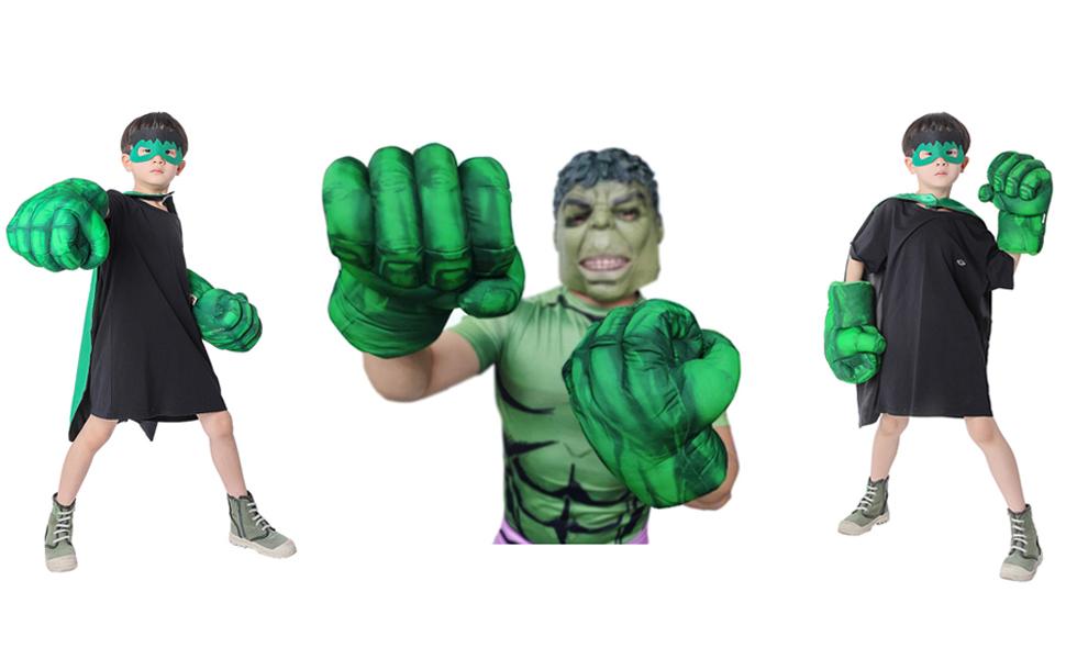 Hulk Smash Hands For Kids & Adult