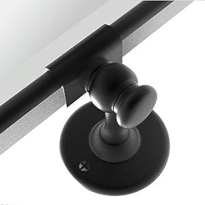 matt black pivot mirror