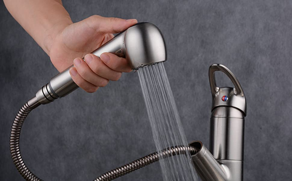 Pull Down Faucet Head Replacement