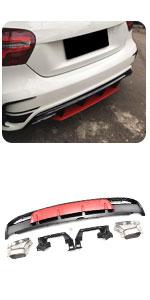 W176 Sport amp; AMG Diffuser