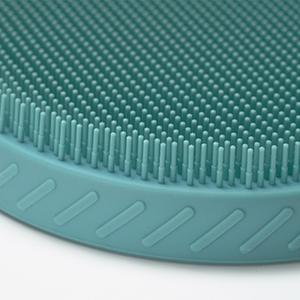 silicone body brush exfoliating shower scrubber men women gift pad