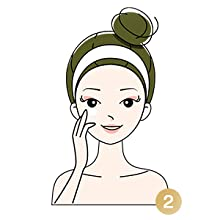 Cover under eye area, eyelids and outer corners