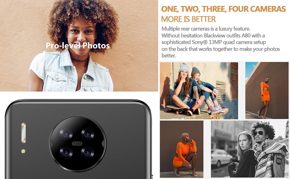 four camera phone