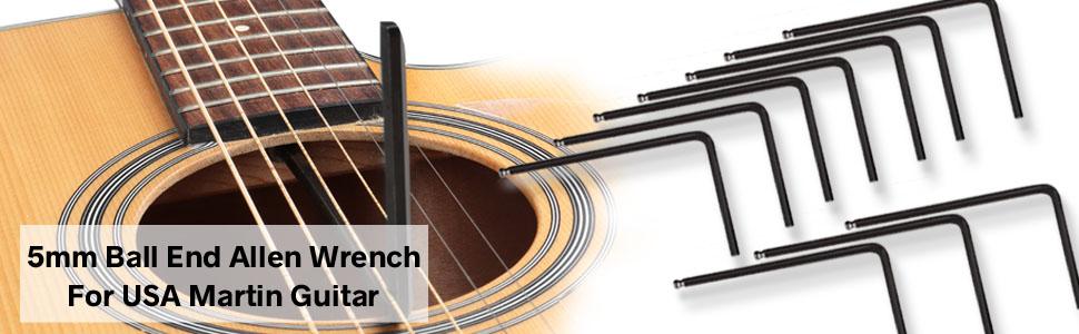 4mm ALLEN KEY IDEAL FOR GUITAR TRUSS ROD ADJUSTMENT ETC