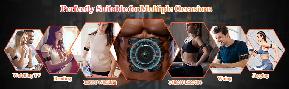 ABS stimulator muscle toner