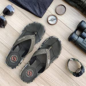 stylish and comfortable flip flops for men