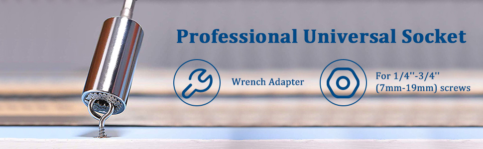 Universal Socket Grip Adapter