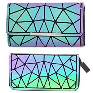 geometry luminous wallet luminous backpack wallet purses and wallets luminous wallet