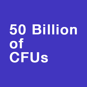 50 Billion of CFUs