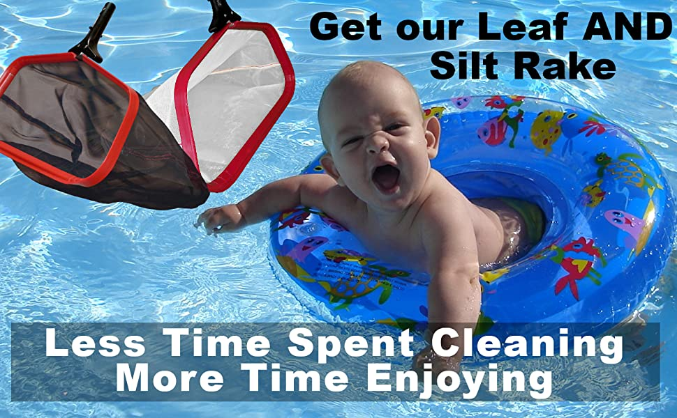Less Time Cleaning - More Time Enjoying Your Pool
