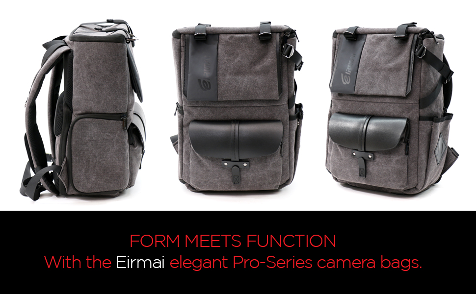 EIRMAI Camera Backpack Professional Large Capacity Waterproof Photography Bag for DSLR Cameras