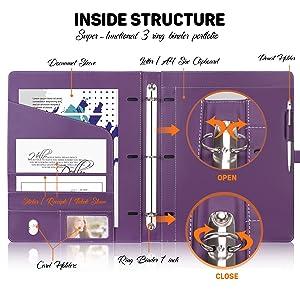 Portfolio 3 Ring Binder
