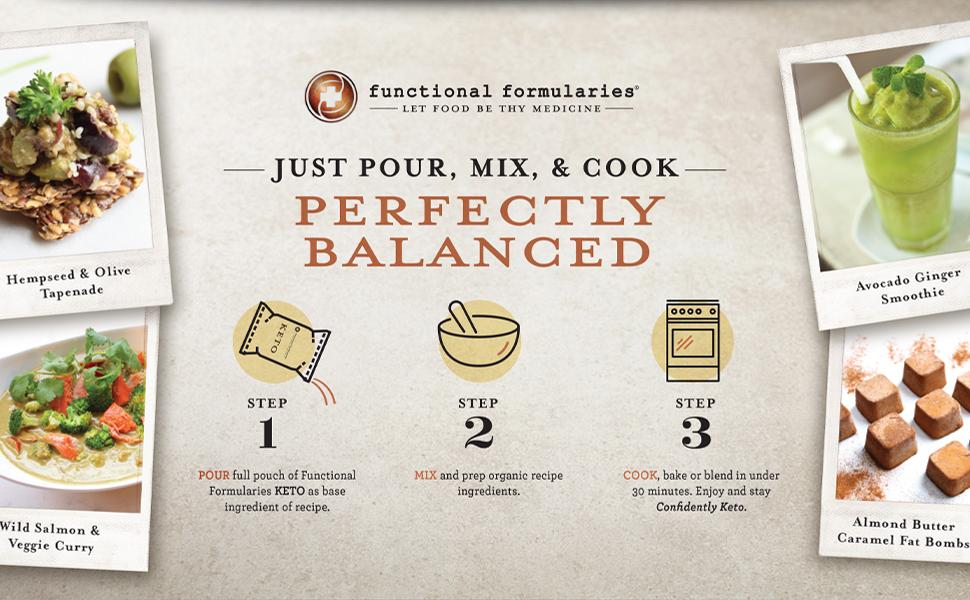perfectly balanced meal