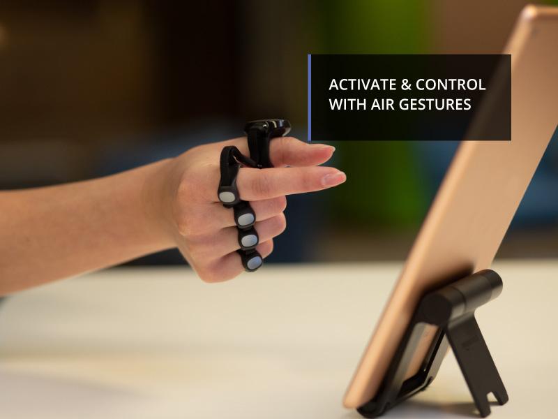Air Gestures, Air Swipe, Air Pinch