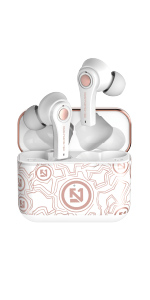 TZONOO Wireless Earbuds Bluetooth 5.0 Earphones, Sports Headset with Charging Case,Bluetooth Earbuds