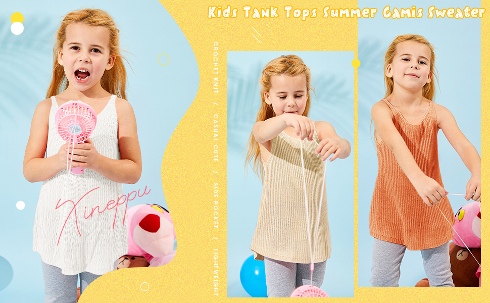 Summer Sleeveless Cute Camis Sweater