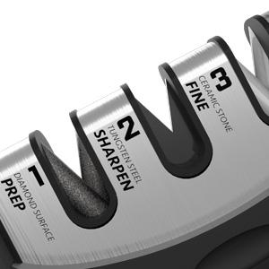 knife sharpener kit professional kitchen sharpening steel chef sharpeners butcher chefschoice