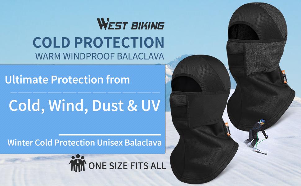 Balaclava Ski Mask,Warm Windproof Face Neck Gaiter Headgear,Breathable Face Mask Cover for Men Women