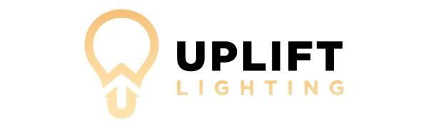Uplift Lighting 6000 lúmenes con logotipo de luz LED deformable