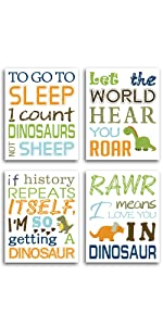 dinosaur quotes posters