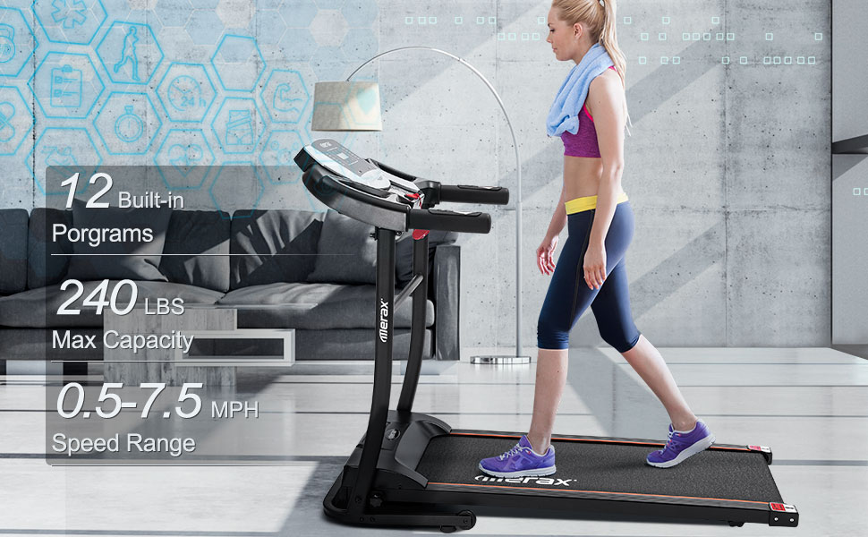 folding treadmill electric treadmill fold up treadmills for home foldable incline treadmill