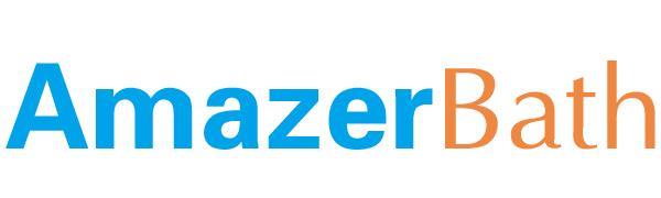 AmazerBath 2 Pack Thin White Shower Curtain Liners