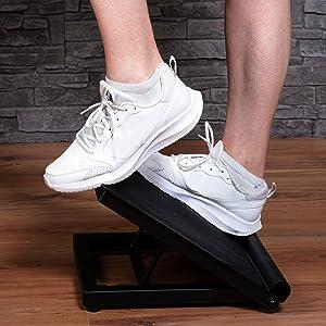 incline slant board, adjustable balance board, slant board for achilles tendinitis, rpm power