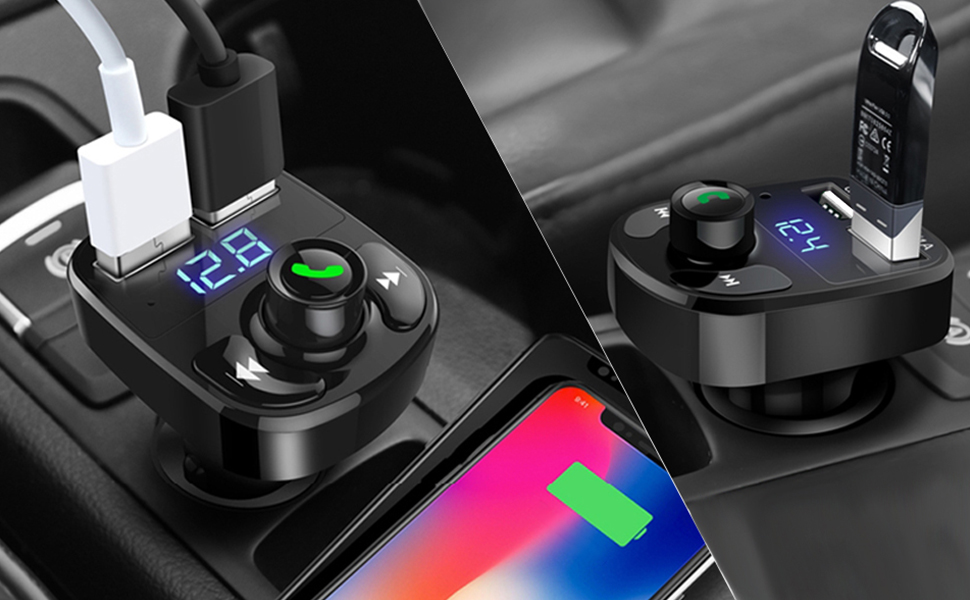 Bluetooth FM adapter