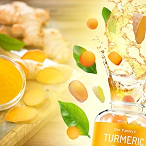 organic turmeric supplement vitamin gummies