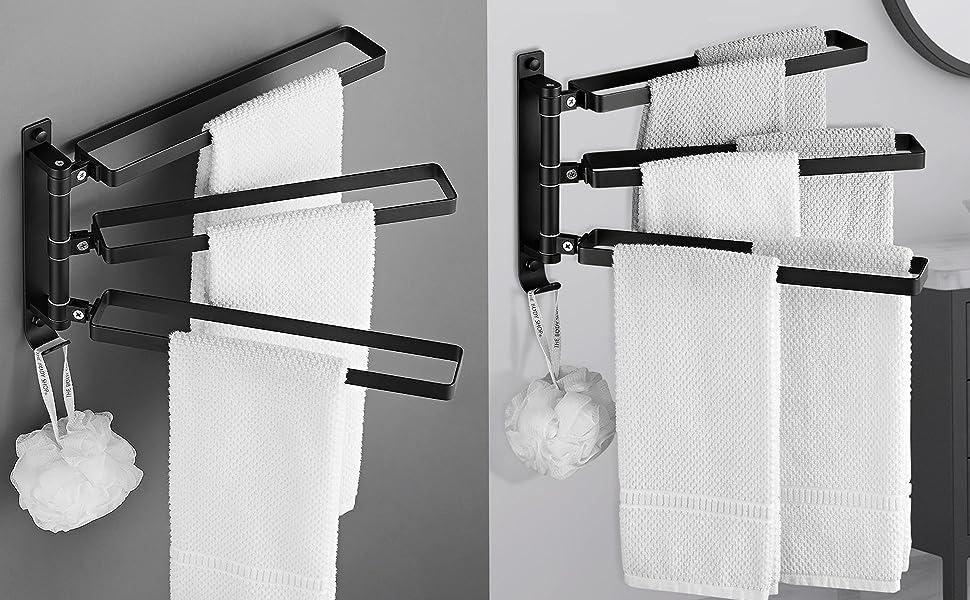 3-Bar Swing Out Towel Rack