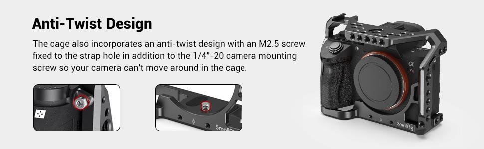 A7III A7RIII Camera Cage