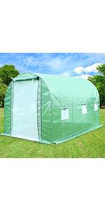 large walkin greenhouse portable greennhouse plastic