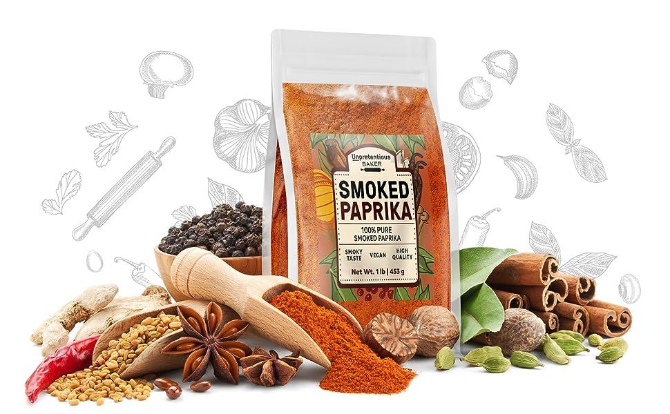 Unpretentious smoked paprika