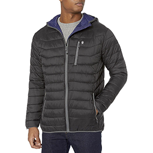 Mens lightweight puffer jacket