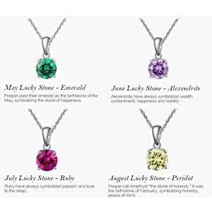 May, June, July and August Necklace