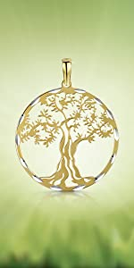 Gold Plated Ancient Tree of Life