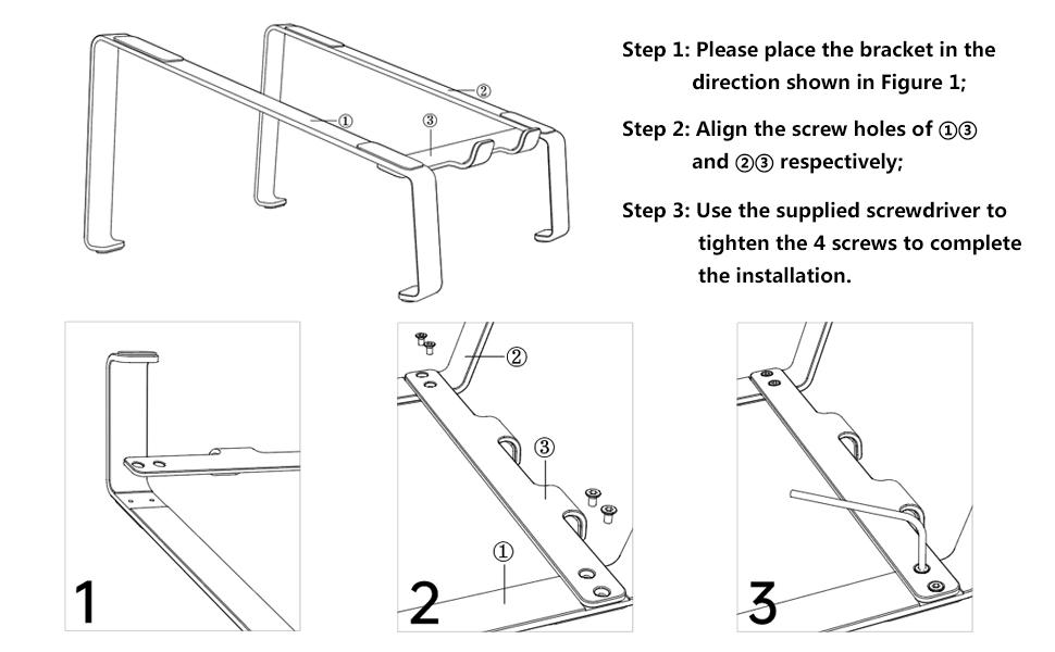 laptop base para laptop elevated laptop stand mac pro stand laptop stand ergonomic laptop platform