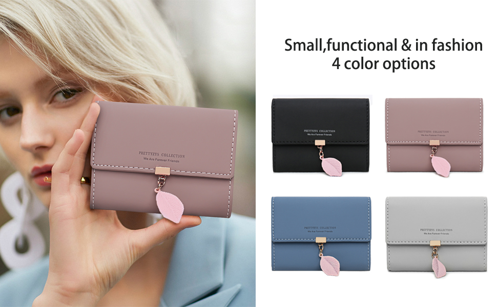 DLseego card holder small wallet