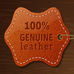 genuine real top grain buffalo cow goat leather dad