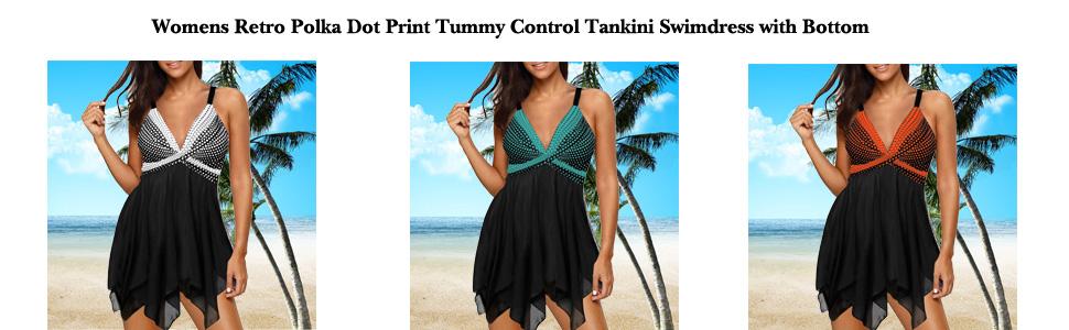 Tankini Swimsuit