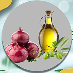 Onion oil, onion conditioner, onion mask, onion related hair products, onion, hair products