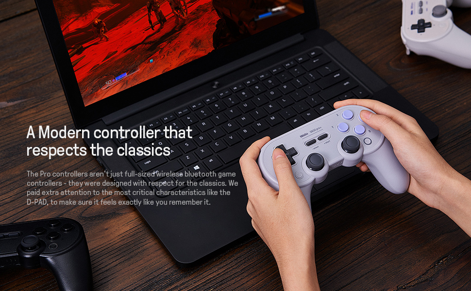 Modern controller respects the classic