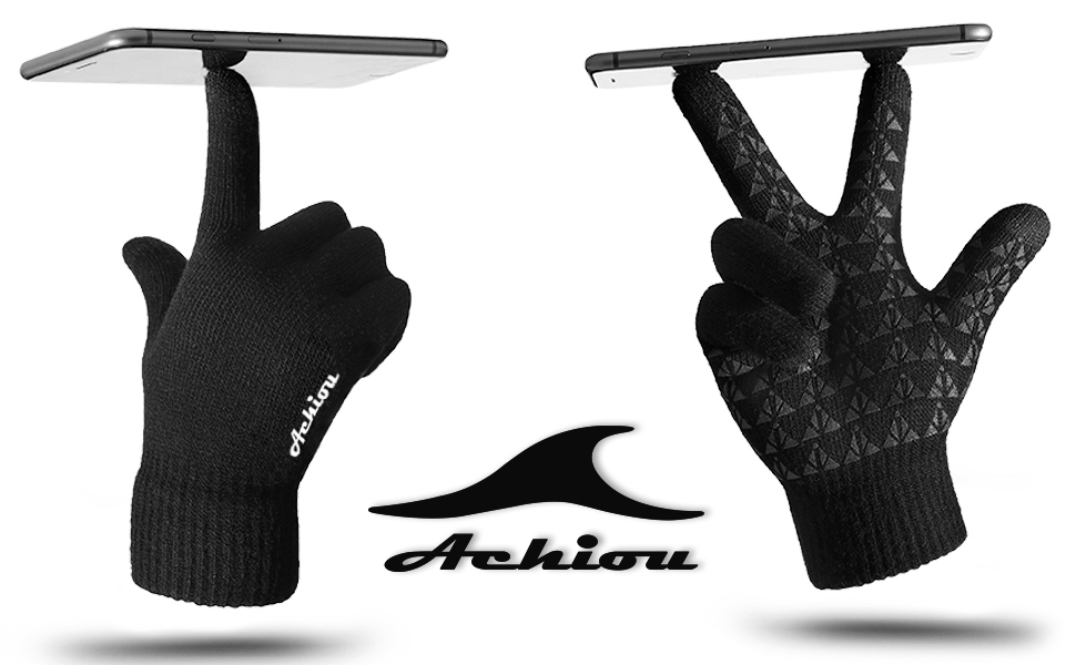 Achiou Winter Warm Touchscreen Gloves