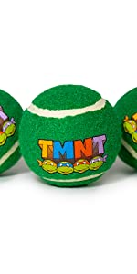 TMNT Tennis Balls for Dogs
