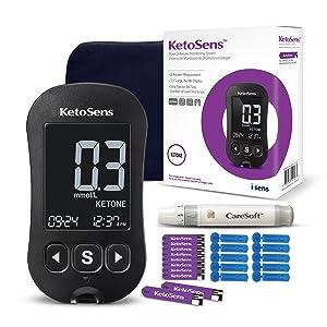 ketogenic, keto, ketone, blood ketone, meter, monitor, test strips, ketosens