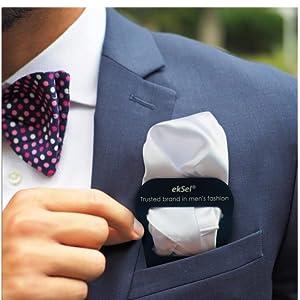 Pocket Square Holders set for men suits