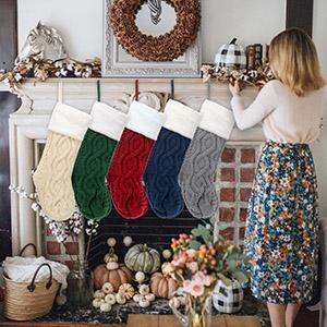 christmas stocking set of 5 for family