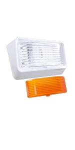 Leisure LED White RV Exterior Night Motion Sensor Porch Utility Light 12v 300 LM Trailer Camper 5th