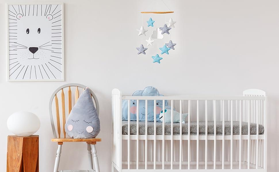 boy crib decor nursery